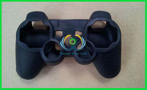 Hot Soft Silicone Skin Grip Protective Cover for SONY PS3 Controller Rubber Case