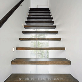 Prima Diy Floating Stairs Wood Stair Design Buy Wood Stair Design