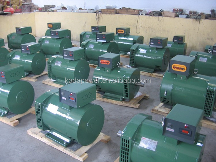 Brush Ac Electric Synchronous Generator Head 25kva 3 Phase