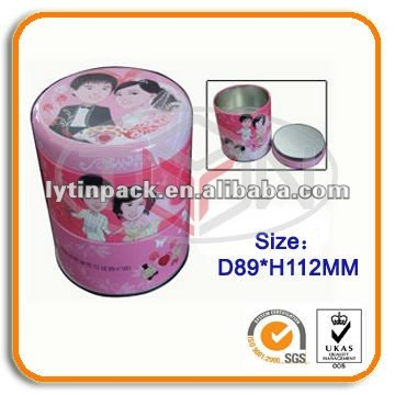 Wedding favors candy tin box