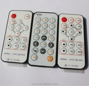 Manufacturer customize ir programable remote control 38/36 khz