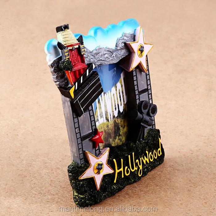 Hollywood Tema Resina Marcos De Fotos Creativas - Buy Product on ...