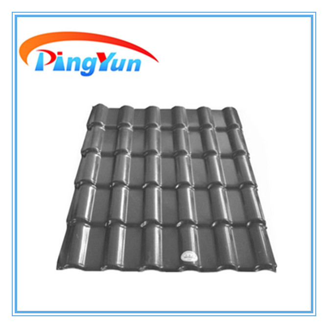 Sound Absorption Pvc Plastic Roofing Tile Heat Insulation
