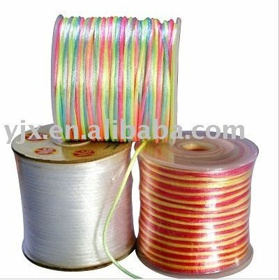 Shimmer rat-tail cord used in gift packaging