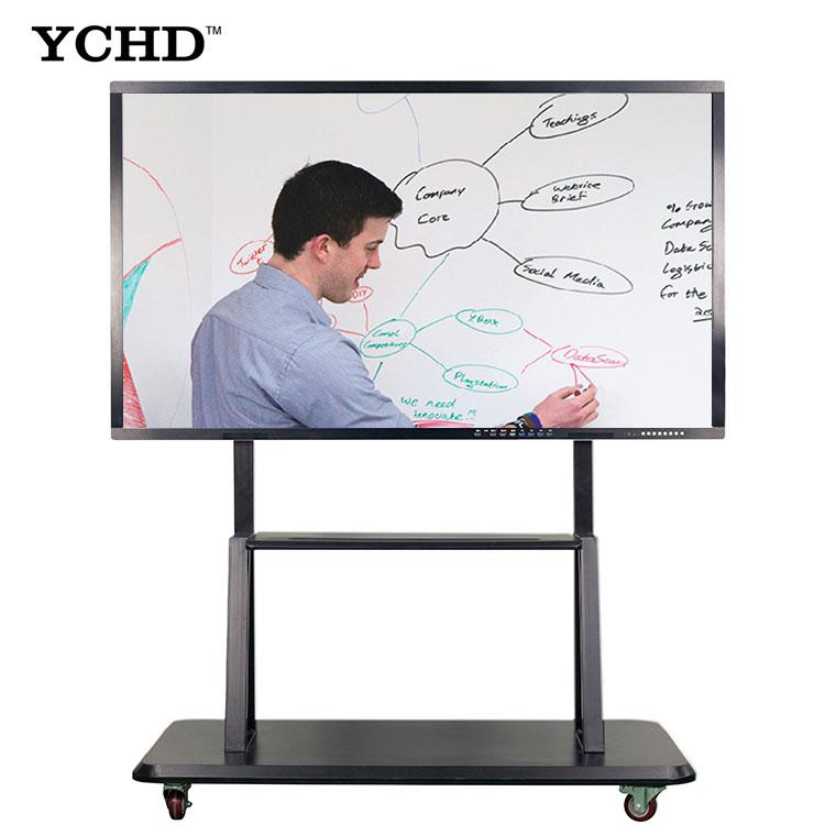 50 אינץ 4k אלחוטי LCD צג מגע מסך חכם לוח לילדים