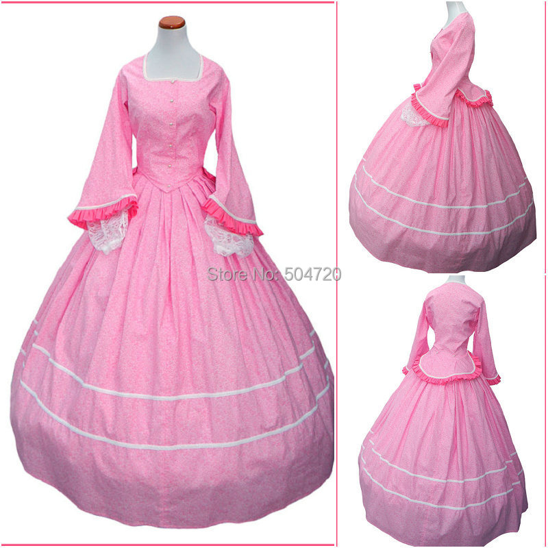 bf2fb27e882 R-480 Custom Made 1860S Civil War Gothic lolita Wedding Dress Victorian