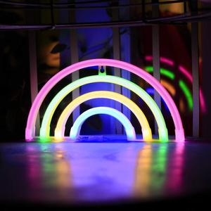 Decorative LED Cloud Shaped Neon Night Light Neon Night Light for Children's Room Party Christmas Wedding