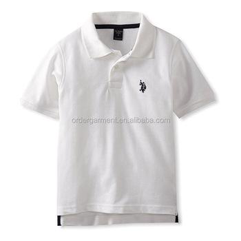 Venta al por mayor de alta calidad en blanco adolescente clásico de camisa  de polo 8c1b631507b79