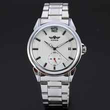 Custom logo Low MOQ mechanical business automatic wrist man watch