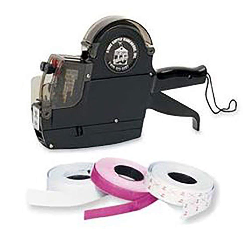 2-Line Pricing Gun and Labels Kit - Includes Line Labeler - Labels Plus More