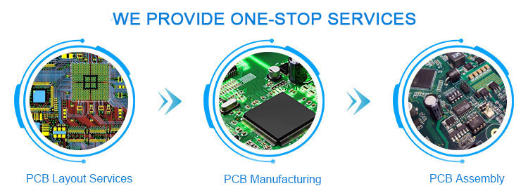 4 Layer pcb manufacturing  pcba prototype cheap price pcb manufacturer in China