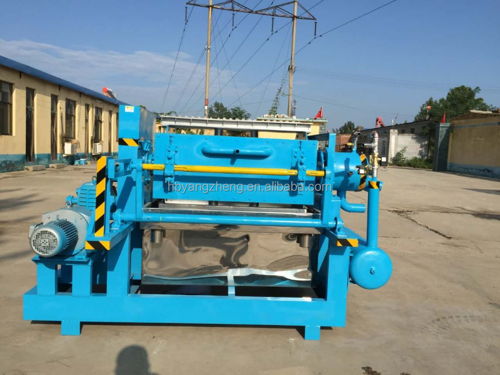 Semi-automatic recycled paper Egg tray making machine