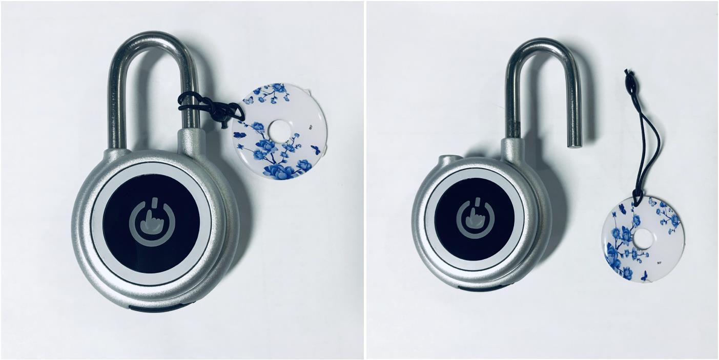 Groothandel Metalen Digitale U-vorm Vingerafdruk Motor Fiets Waterdichte IP65 Lock Kantoor Glas Deurslot