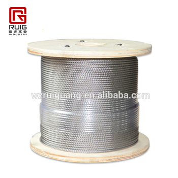 10mm Yellow Grease Steel Wire Rope Galvanized Wire Rope Pvc Coated ...