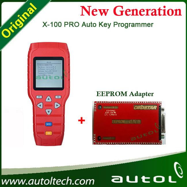 Obd Diagnostic Auto Data Key Programming X100 Pro Eeprom Chip Read X100 Pro  Key Programming Machine For All Cars - Buy Key Programming Machine For All