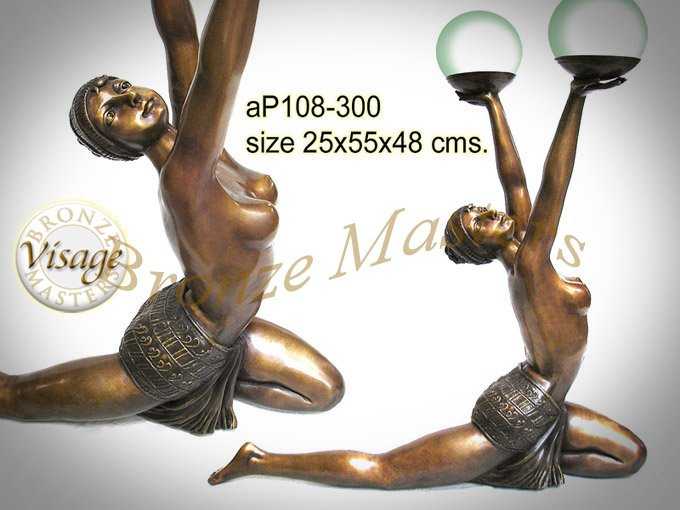 Bronze art deco lady lamp sculpture buy bronze product on alibaba publicscrutiny Image collections