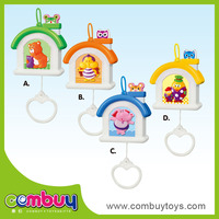 Laster intelligence plastic rattle set musical toy baby house
