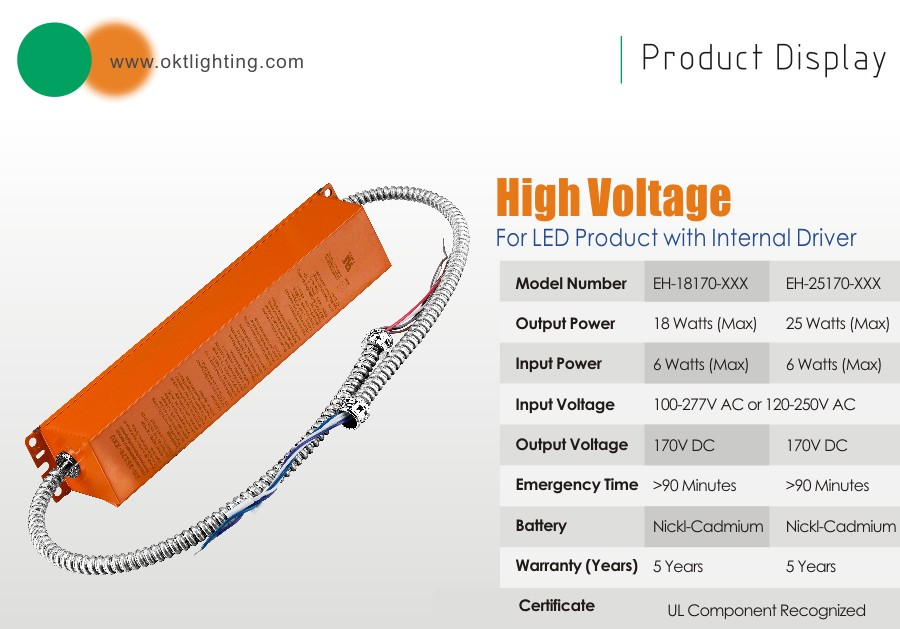 OKT Lighting UL certified 25watt LED emergency driver backup factory price  sc 1 st  Alibaba & Okt Lighting Ul Certified 25watt Led Emergency Driver Backup ... azcodes.com