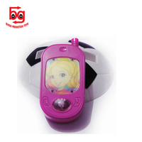 Cheap plastic phone toys early educational cell phone kids baby novelty pink phone