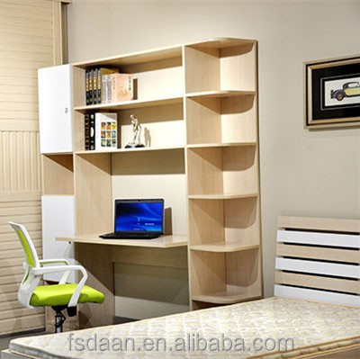 Top Computer Table With Bookshelf - Buy Computer Table Models,Wooden  ZX06