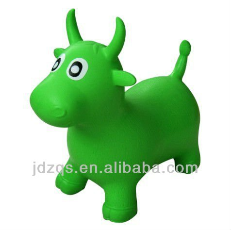 PVC jumping animal ball