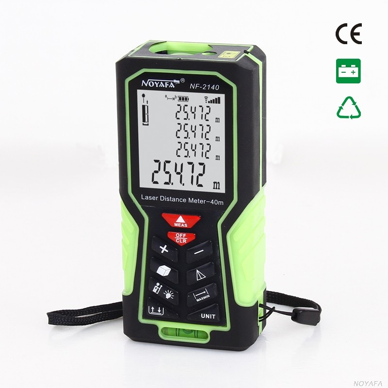 Laser distance meter with length & Area & Volume test function (NF-2140)