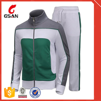 Latest Design Sports Track Suits 100% Polyester Mens Sport Tracksuit Fleece Tracksuit