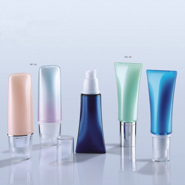Luxury cosmetic airless pump <strong>bottle</strong> empty acrylic <strong>bottle</strong> airless <strong>bottle</strong>