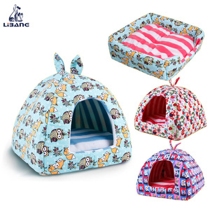 New Design Cute Tent Shaped Pet Dog Cover Bed