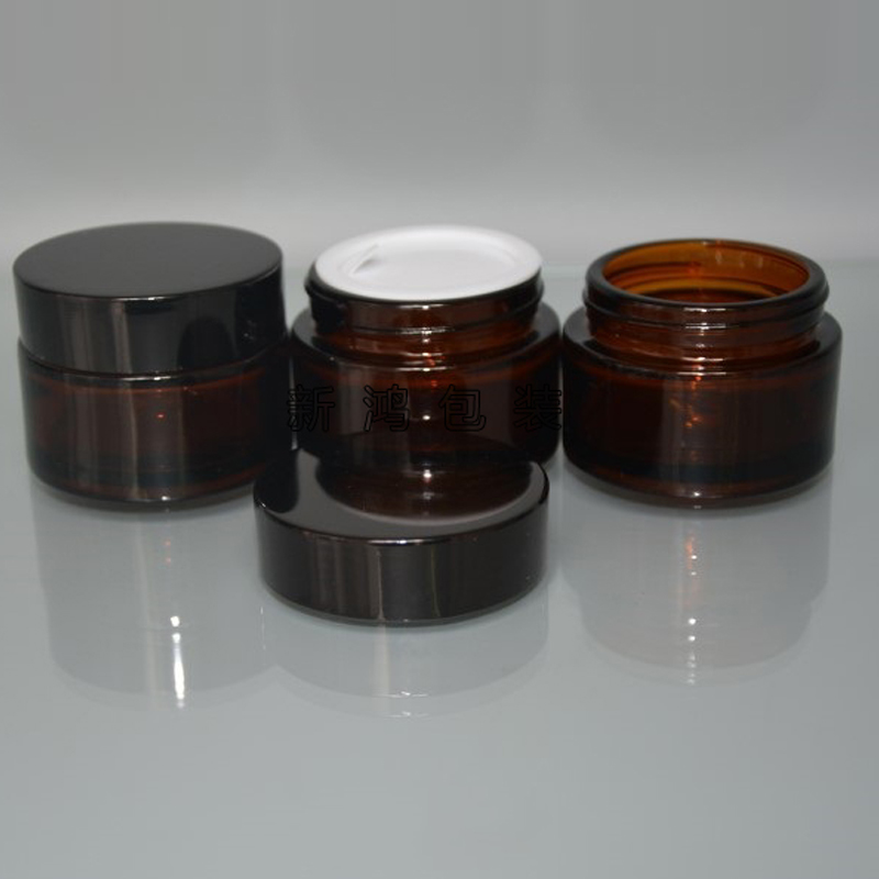 5g 10 g 15g 20g 30g 50g 100g 120g skincare glass bottles cosmetic cream jar