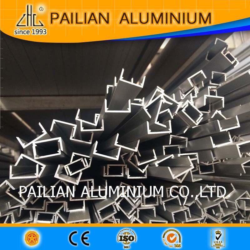 Anodized sliver aluminium diy led aquarium lights and  6063 led strip  with heat sink hot selling
