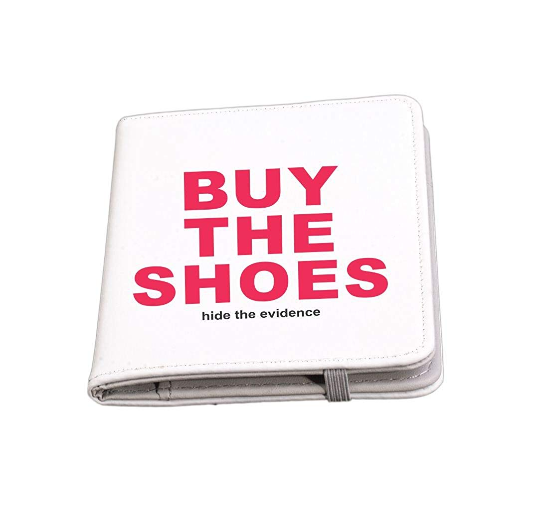 Rikki Knight Buy the Shoes-Shopping Funny Quotes Passport Holder with slots for Travel documents