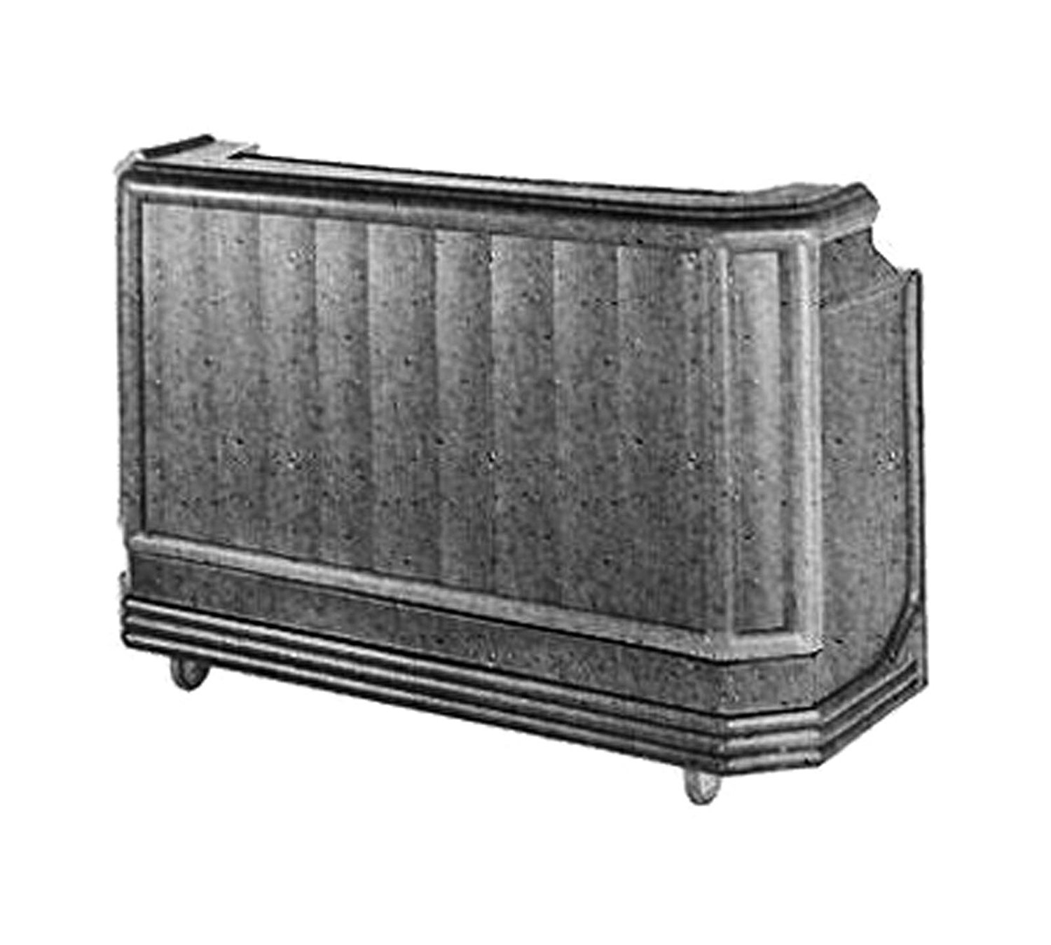 Get Quotations · Cambro Bar650 St with Cold Plate, Granite Green and Black  (BAR650CP421) Category: