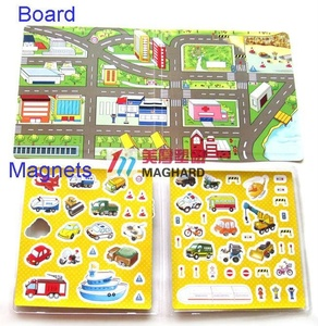 Interactive Game Truck Car Educational baby Toys Magnetic Game