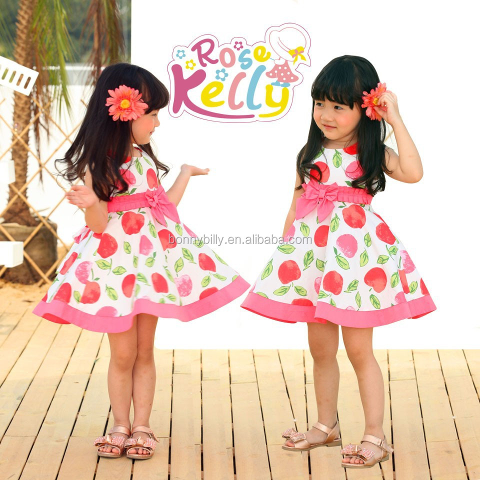 Baby Dresses 2015 Latest Frocks Designs,100% Cotton Summer Baby ...