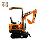 1 ton mini micro wheel excavator for sale