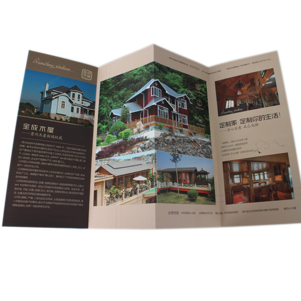 Custom Company Profile Sample Multicolor Offset Printing