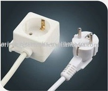 Europe electrical extension cord/ ironing board socket