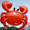 advertising inflatable helium balloon PVC red giant inflatable crab for sale