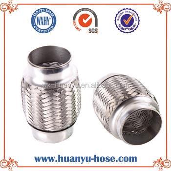 Auto Titanium Pipe Flex Exhaust Pipe 4 Bellow Hose Buy Auto