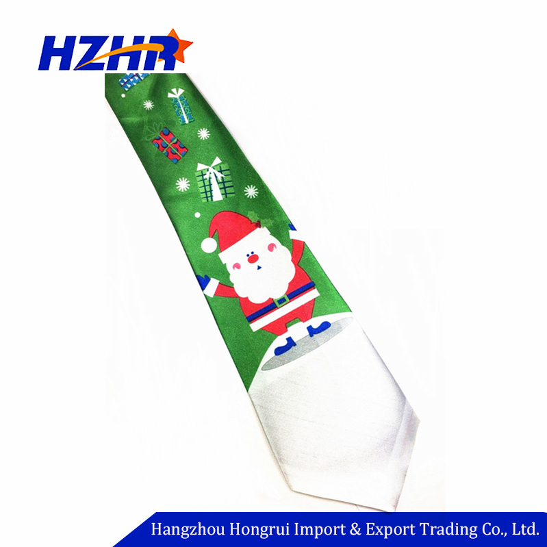 Nieuwe Zingen Jingle Bells Mens Stropdas Christmas Santa Rendier Holiday Das