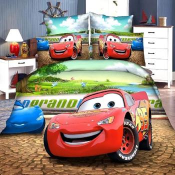 High Quality 100% Egyptian Cotton Cartoon Bed Linen Kids 3D Bed Sheet