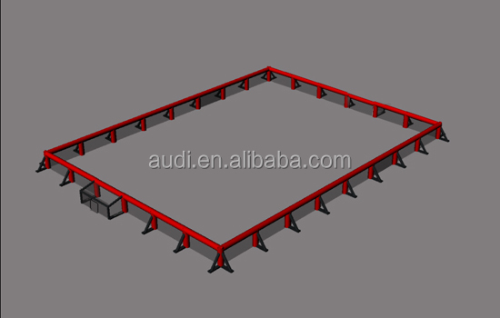 expandable inflatable arena/inflatable soccer arena/ inflatable hockey games arena