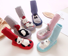 Wholesale cute Non slip baby socks like shoe