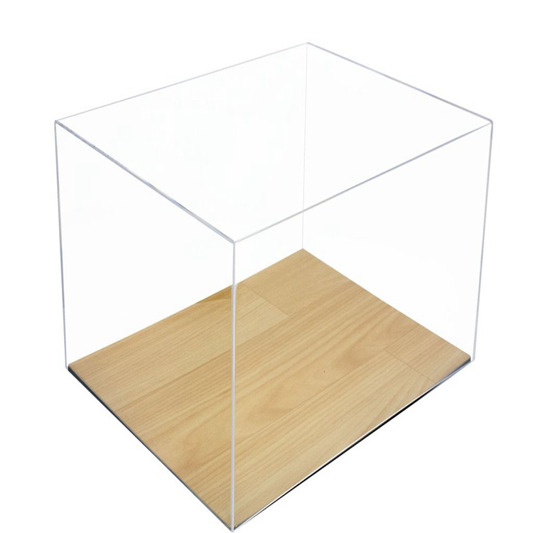 Good quality <strong>retail</strong> shop glass shoe display case with wood base
