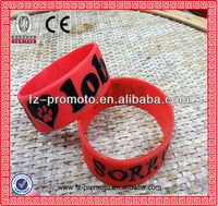 New stlye minecraft silicone wristband/rubber bracelet/rubber wristband for promotion