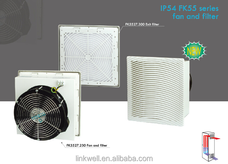 China Top 10 Selling Panel Board Ventilation Filter Fan For ...