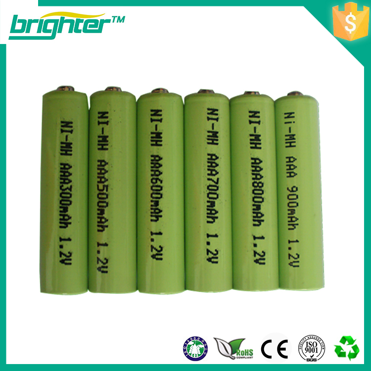 High Quality Aaa Nimh 550mah Rechargeable Batteries Buy Batterie