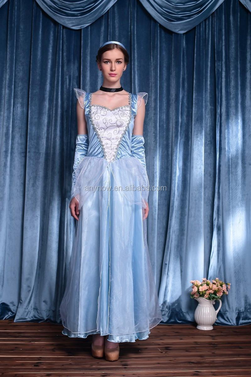 Cinderella Snow White Cosplay Girls Dresses Masquerade Ball Party ...