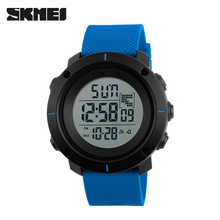 gift cheap PU Plastic 5 atm chronograph skmei 1213 sports watch